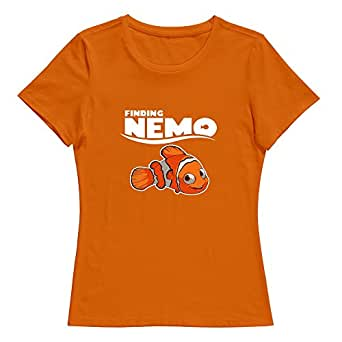 Finding dory nemo 2016 2 o neck women t shirt for Amazon custom t shirts