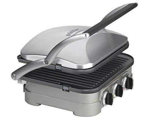 Cuisinart GR-4NAMZ Griddler, Stainless Steel by Cuisinart (Image #1)