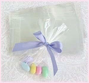 Amazon.com: 4 x 6 bolsas de celofán para Candy – 100 Pack ...