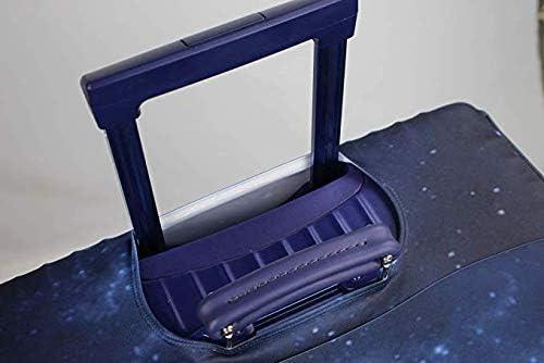 Convient aux Bagages de 18 /à 32 Pouces Housse de Protection pour Bagages Lavable et protectrice pour Valise Protecteur de Valise en Spandex /élastique avec /étiquette pour Bagage