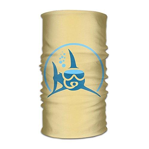 Magic Headwear Shark Scuba Diving Outdoor Scarf Headbands Bandana Mask Neck Gaiter Head Wrap Mask Sweatband