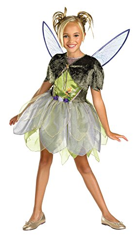 Morris Costumes TINKER BELL DELUXE 7-8 (Celebrity Couples Halloween Costumes)
