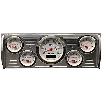 1941 1942 1943 1944 1945 1946 1947  Dodge Truck 5 Gauge Dash Panel Set White
