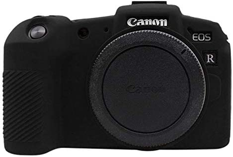 JINGZ Soft Silicone Protective Case for Canon EOS RP Durable Color : Red
