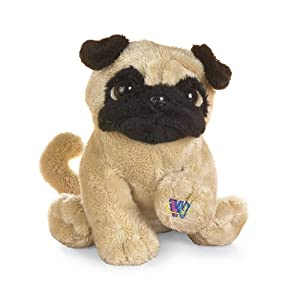 stuffed animal pug amazon com ganz lil kinz pug plush 6 5 quot toys games 4995