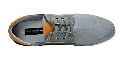 Bruno Marc New York Bruno Marc Menns Rivera Oxfords Sko Joggesko Grå