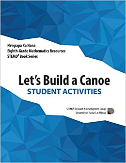Lets Build A Canoe Student Activities Grade 8 Mathematics