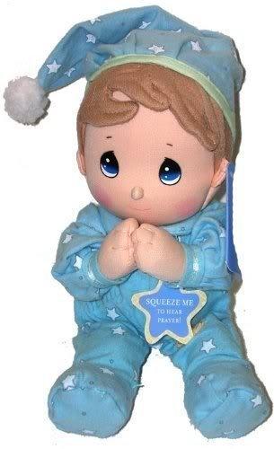 10' Tall - Precious Moments Prayer Pal - Boy in Pajamas