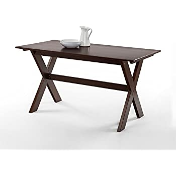 Amazon Com Powell 457 417 Turino Rectangle Table Grey