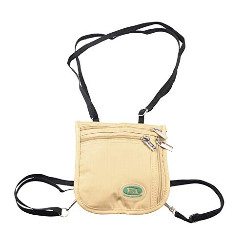 Hajj Safe - Hajj & Umrah Travel Neck Bag for Women Muslim Pilgrimage Bag Passport Money Cell phone Purse