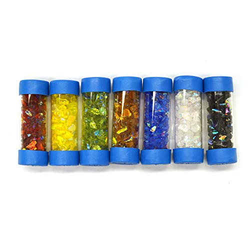 CBS Colored Dichroic Frit Assortment - 90 Coe by CBS Dichroic Glass (Image #1)