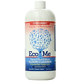 EcoMe Concentrated Muli-Surface and Floor Cleaner, Citrus Berry, 32 oz