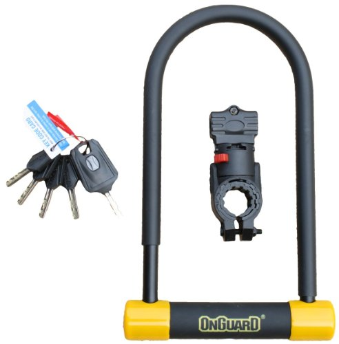 Onguard Bulldog Shackle Lock 115x229x13 mm by On-Guard by On-Guard