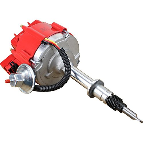 Dragon Fire High Performance Race Series Complete HEI Electronic Ignition Distributor Compatible Replacement ForAMC Jeep 232-258 6 Cylinder V6 Oem Fit DJ6-DF