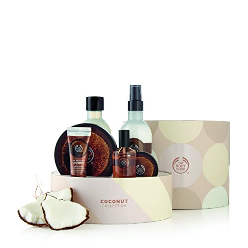 - The Body Shop Ultimate Collection Gift Set, Coconut, 27.4 Ounce