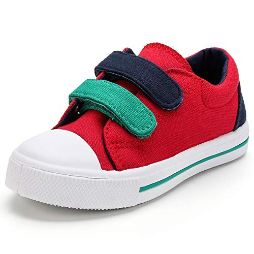KomForme SBR022-10M-US Toddler Kids Sneakers Red