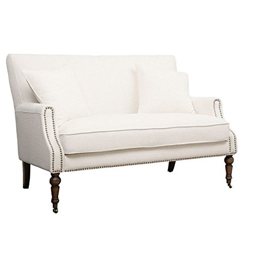 Bowery Hill Loveseat in Ivory