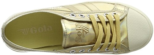 Gold Lizard Coaster White Gola Baskets Femme Off 8ZEwq