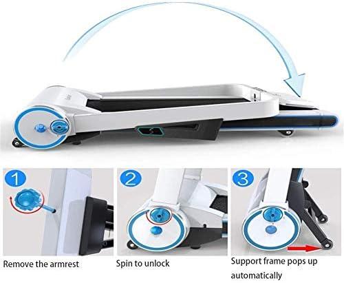SMQHH Treadmills Cardio Training, Treadmills for Home Folding Running Jogging Machine Gym Treadmill Fitness Electric 4