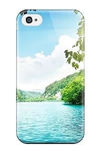 Fashion FuTMxZi8379oVXwr Case Cover For Iphone 4/4s(lagoon Green Waters)
