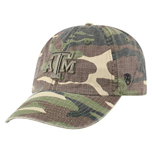 - Top of the World Texas A&M Aggies Men's Camo Hat Icon, Camo, Adjustable