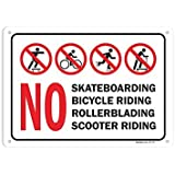 Metal Scooter Sign Plaque Life/'s Ride Scooter Sign GS PX Metal Scooter Sign