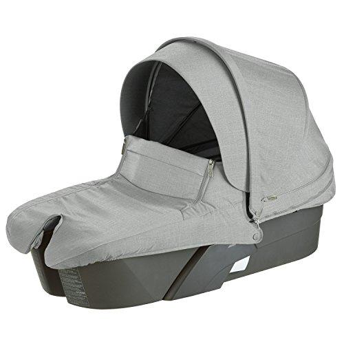 StokkeXplory Carry Cot, Grey Melange