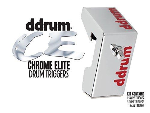 ddrum CETKIT Chrome Elite Drum Trigger ()