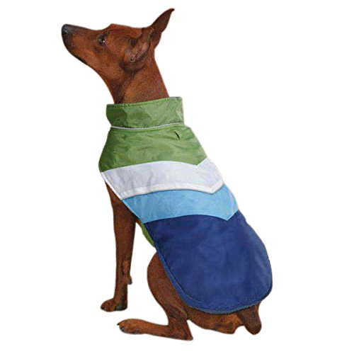 Casual Canine Polyester Tonal Dog Vest, Small/Medium, Nautical Blue