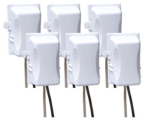 Kidco Outlet Plug Cover, 6-Pack by KidCo