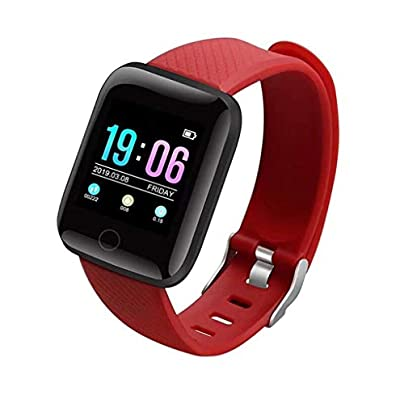 HFXLH Men Women Sports Smart Watch Heart Rate Blood Pressure Health Smart wristband Fitness Tracker Bracelet Smart Watch For Men Estimated Price £37.54 -