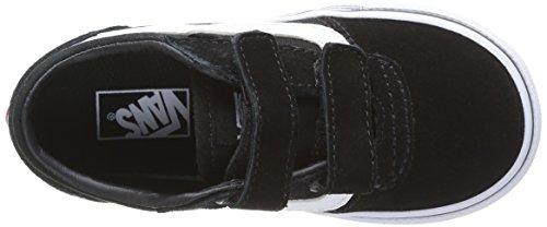 Vans Milton V - Zapatillas de deporte Unisex bebé negro - Schwarz ((Suede Canvas) C4R)