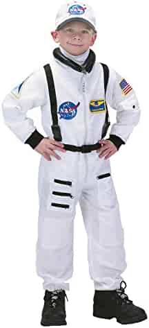 Aeromax Jr. Astronaut Suit with NASA patches and diaper snaps