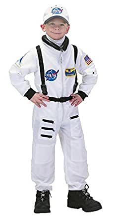 Aeromax Jr. Astronaut Suit with Embroidered Cap and NASA patches