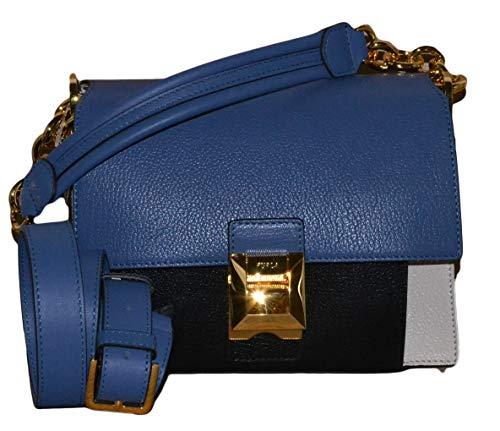 Furla Women's Diva Mini Shoulder Bag Lino/Pervinca/Onyx One Size