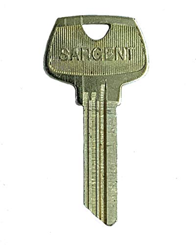 - Sargent 6 Pin Key Blank 6275 HC Keyway, Pkg of 10, Factory Original