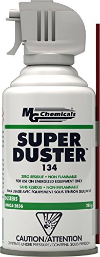 MG Chemicals 402A 134A Super Duster, 285g (10 oz) Aerosol Can