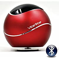 Vibe-Tribe Orbit Ruby Red: 15 Watt Bluetooth Vibration Speaker with Hands Free