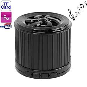 Mini Portable Speaker with FM Function, Support TF Card (Black)