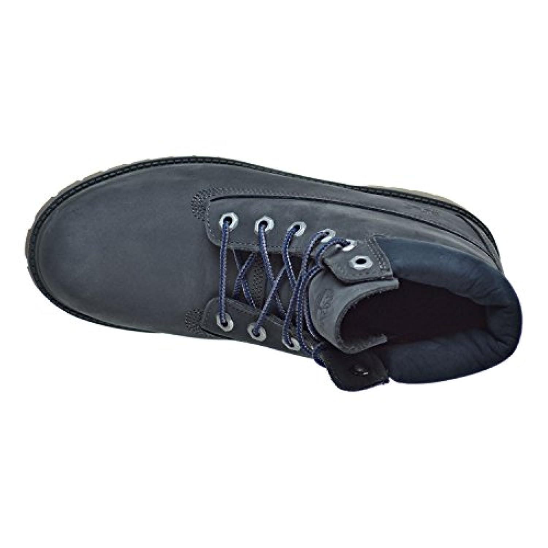 Timberland 6 Inch Classic Boot Youth Dark Grey Nubuck 3 UK