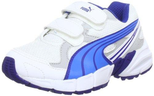 Puma Axis - Zapatillas Blanco (Blanc - Weiß (white-brilliant blue-mazarine blue 09))