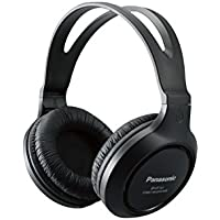 Panasonic Headphones RP-HT161-K Full-Sized Over-the-Ear...