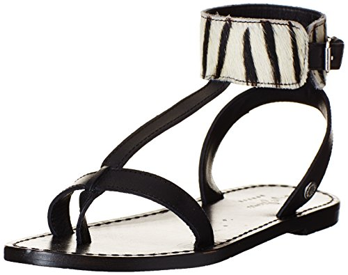 Black Noir 999 Pepe Jeans Collar Sandals Jane WoMen 88qSwU