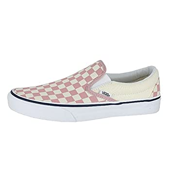 Vans Mono Classic Slip-on Checkerboard Zephyr Pink Sneakers Shoes 8.5 Mens10 Womens 1