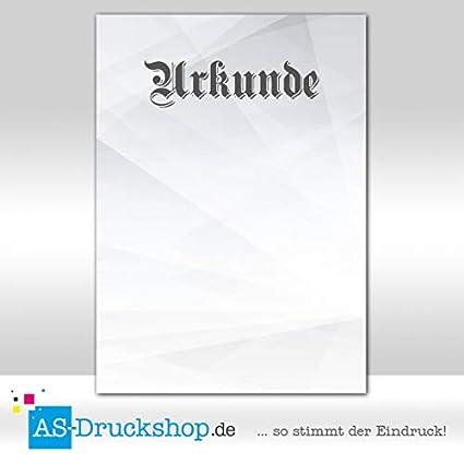 25 Blatt Motivpapier Urkundenpapier DIN A4 Ehrenurkunde 250 g-Papier