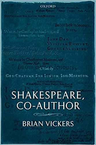 Amazon Shakespeare Co Author A Historical Study Of Five