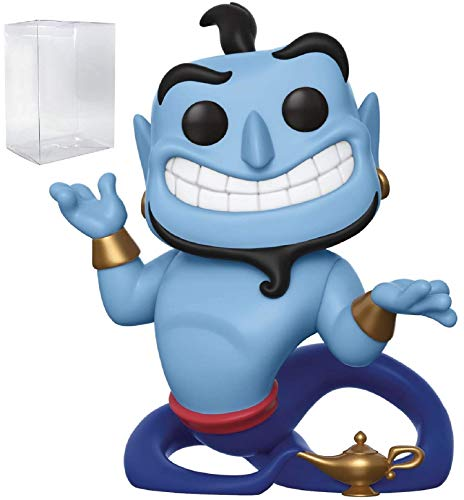 Disney: Aladdin - Genie with Lamp Funko Pop! Vinyl Figure (Includes Pop Box Protector...