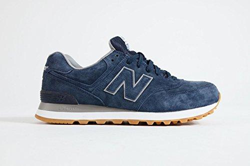 New a Balance Basso blu Uomo 574 Sneaker Collo qPa47Sqr