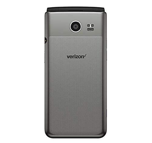 LG - Exalt 4G LTE VN220 with 8GB Memory Cell Phone - Silver (Verizon) (Renewed) (Lg Exalt Cell Phone)
