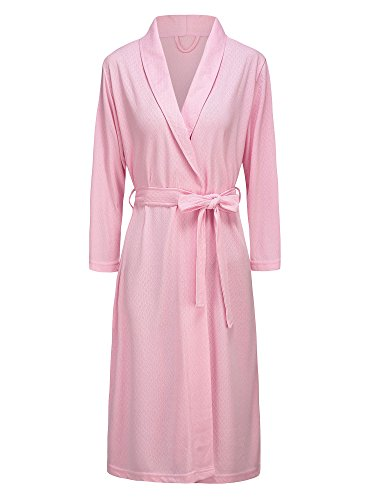 bright pink dressing gown - 4